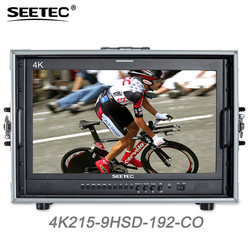 Seetec 4K215-9HSD-192-CO 21.5 Inch IPS FHD Broadcast Monitor 3G-SDI 4K HDMI Carry-on LCD Monitor for Director CCTV Monitoring