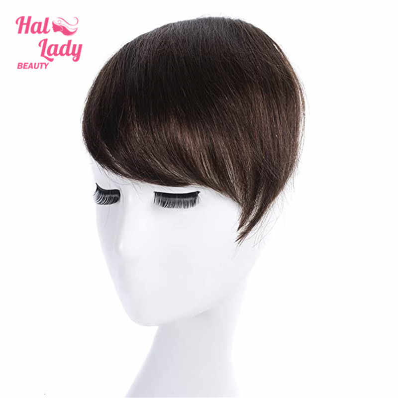 Halo Dame Schönheit Clip in Haar Pony Pony Haar Extensions Volle Kehr Seite Haarteil Haarteil Brasilianische Nicht-remy menschliches Haar