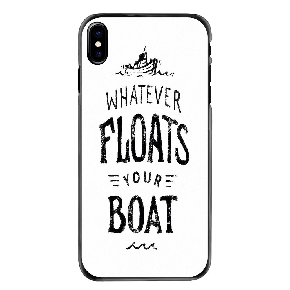 Urban Dictionary whatever floats your boat Phone Bag Case For iPhone 11 Pro iPod Touch 4 4S 5 5S 5C SE 6 6S 7 8 Plus X XR XS MAX image