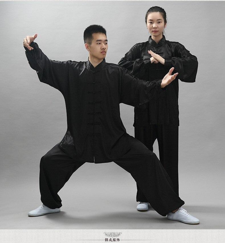 Wing Chun Uniform Bruce Lee Kung Fu Uniform Wushu Clothing Tai Chi Martial Art Suit Taiji Clothes Jacket Pants Sets