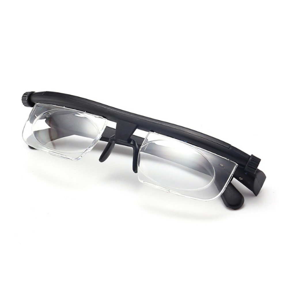 Adjustable Men Women Reading Glasses Myopia Eyeglasses -6D To +3D Diopters Magnifying Variable Strength