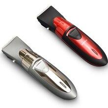 Profesjonalna długość regulowana maszynka do włosów akumulator ścinanie włosów maszyna strzyżenie trymer wodoodporny!