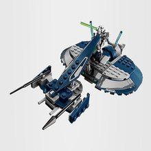 169 Uds contra Speeder con cifras Compatible estrella de película 75199 guerras de bloques de construcción de juguetes de los niños para el regalo de los niños
