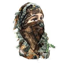 Тактическая камуфляжная Балаклава с объемным рисунком маска