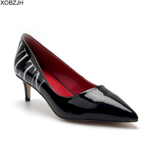 Italian high heels Office Designer Shoes Women Heels Pumps luxury 2019 Fashion Brand Pumps Black Ladies G Shoes Woman lager size недорого