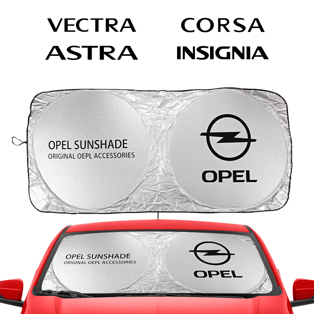 Car Windshield Sunshades Sun Shade Covers Blocks for Opel Adam Combo Corsa Crossland X Grandland Insignia Karl Auto Accessories