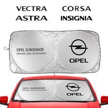 Auto Windschutzscheibe Sonnenschirme Sonnenschutz Abdeckungen Blöcke für Opel Adam Combo Corsa Crossland X Grandland Insignia Auto Zubehör