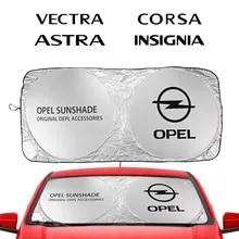 자동차 앞 유리 차양 차양 커버 블록 Opel Adam Combo Corsa Crossland X Grandland Insignia 자동차 액세서리