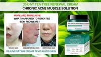 AHA BHA PHA 30 Days Miracle Cream 60ml Teatree Oil Control Moisturizer Face Cream Acne Treatment Whitening Cream 4