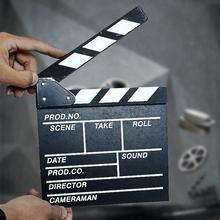 Новые деревянные 20x20x1,5 см для видеорежиссера с хлопушкой для сцены видеосъемки ТВ кинонумератор с «хлопушкой» Доска профессиональные пленка Сланец-нумератор с высокой производительностью