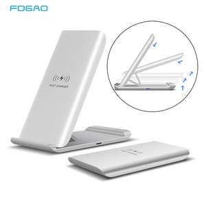 FDGAO 15W Qi Wireless Charger Quick Charge Dock For Samsung S20 S10 S9 Note 10 Fast Charging Stand Pad for iPhone 11 Pro XS XR X