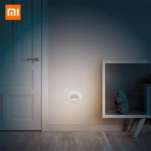 Image 3 - 2020 nouveau Xiaomi Mijia Philips Bluetooth veilleuse LED Induction couloir nuit lampe infrarouge télécommande corps capteur pour B