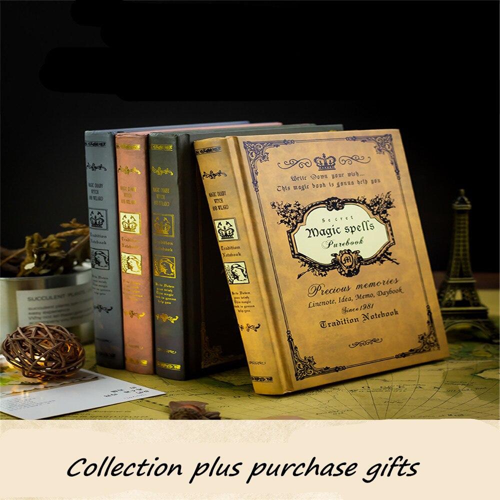 A5 Libreta Vintage School Cuaderno Tapa Dura Study Planner Cadernos De Material Libretas Y Cuadernos Creativos Diary 2020 Filofa