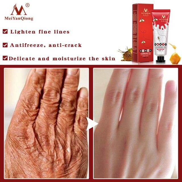 Honey Milk Soft Hand Cream Lotions Serum Repair Nourishing Hand Skin Care Anti Chapping Anti-Aging Moisturizing Whitening Cream 1