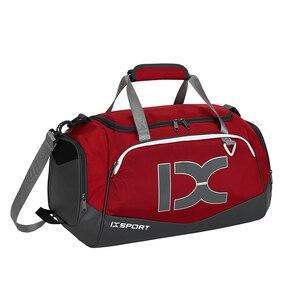 Image 1 - 2020 New 40L Dry Wet Gym Bag For Fitness Travel Shoulder Bag Handbag Waterproof Sports Shoes Women Men Sac De Sport Training Tas