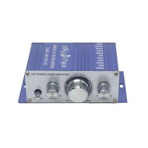 Image 2 - Мини усилитель KYYSLB HY2001 2,0 20 Вт * 2 12 В, домашний аудио мебель, автомобильный усилитель Hi Fi, 20 20 кГц