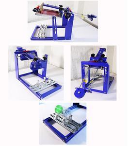 Image 3 - 빠른 무료 배송 수동 스크린 실린더 인쇄 기계 병/컵/펜 표면 곡선 프레스