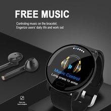 K9 Smart Bracelet Smart watch IP68 Waterproof Pedometer Information Display Heart Rate Blood Pressure Oxygen Monitor