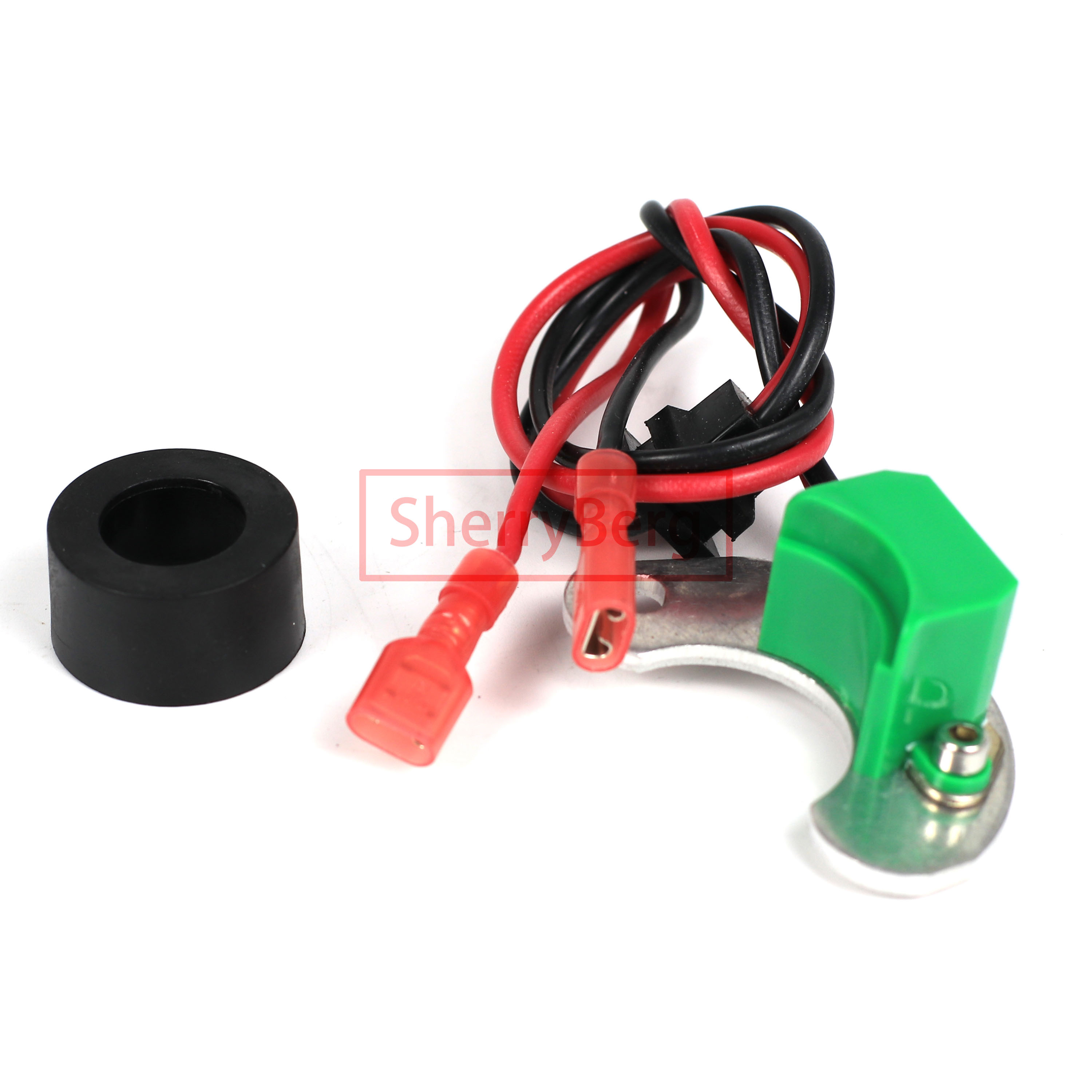 SherryBerg Electronic IGNITION KIT fit for Bosch JFU4 009 Distributors for VW Penta Porsche Audi for distributor without vacuum