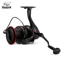 Lizard TP8000 9000 13BB+1RB 4.1:1 Spinning Fishing Reel Metal Wire Cup Long Distant Sea Carp Fishing Spinning Reels Wheel