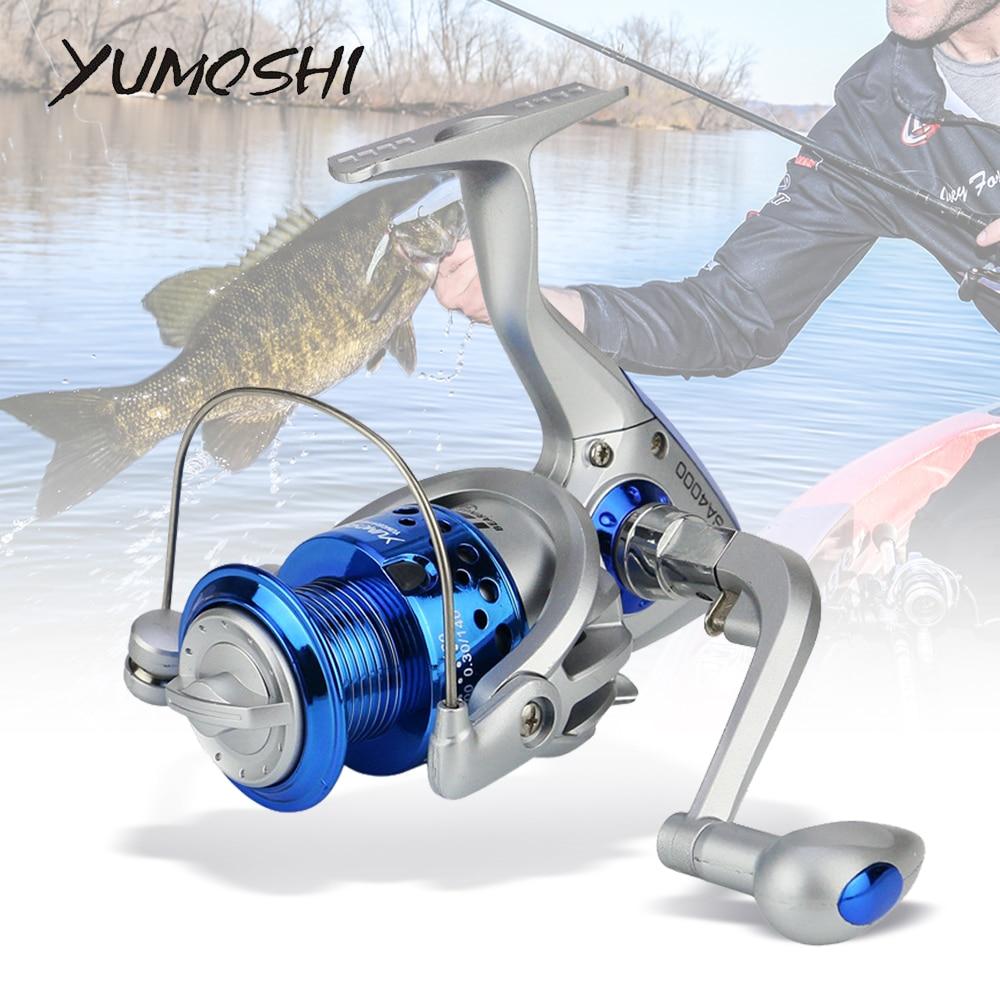 Fishing Reel Carrete SA1000-7000 Spinning Fishing Wheel Fishing Coil Full Meta Left/Right Hand Cheap Parts