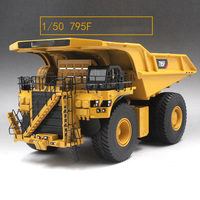 collection diecast 1/50 scale 795F AC Mining Truck toy engineering vehicles diecast toys