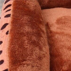 Image 5 - Lits pour animal de compagnie, pour grands chiens et petits chiots, matelas chaud et doux, canapé, lavable, matelas de couchage, grande taille XXL