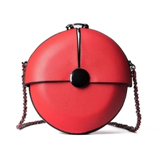JUILE Brand Ladies round shoulder bag fashion wild mini Women mobile phone diagonal package ins cute girl simple handbag purse