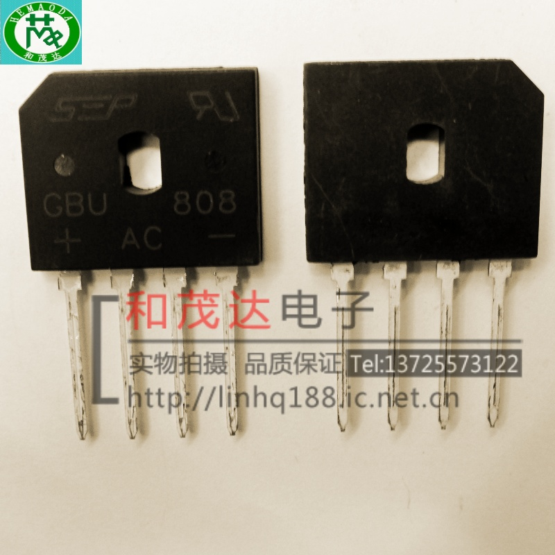 1 шт. новый оригинальный GBU808 8A/800V 1012 в наличии