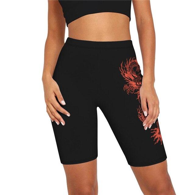 Solid Women Summer Cycling Bike Shorts Stretch Basic Short Black Female Pantalones Sweatpants Strike Bodycon Streetwear G1946 5