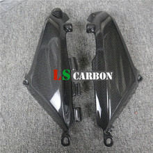For Ducati Monster 696,796,1100,EVO NON ABS Version Full Carbon Fiber Motorcycle Accessories Oil Radiator Ducts(Side Covers) radiator cover for ducati monster 696 795 796 full carbon fiber 100% twill