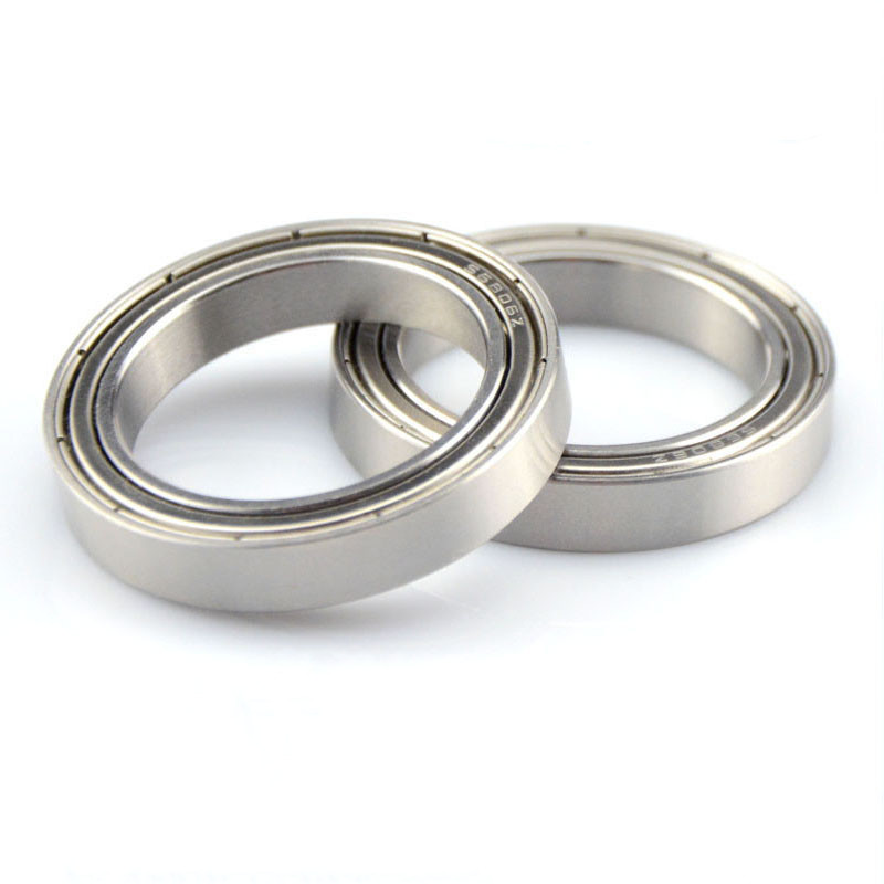 50pcs/lot Bearing 6800 6801 6802 6803 6804 6805 6806 6807 6808  ZZ  - 2RS Thin Wall Deep Groove Ball Bearings