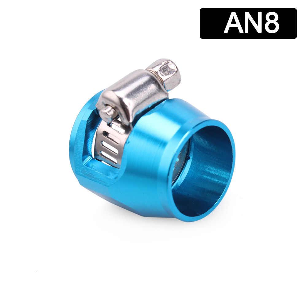 8AN ID 16mm Billet Fuel Hose Separator Fittings Adapter Purple 8AN