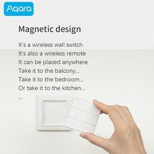 Image 5 - Aqara OPPLE Wireless Scenes Switch Dimmable Smart remote control Zigbee3.0 work with Xiaomi Mi Home App compatible Apple HomeKit