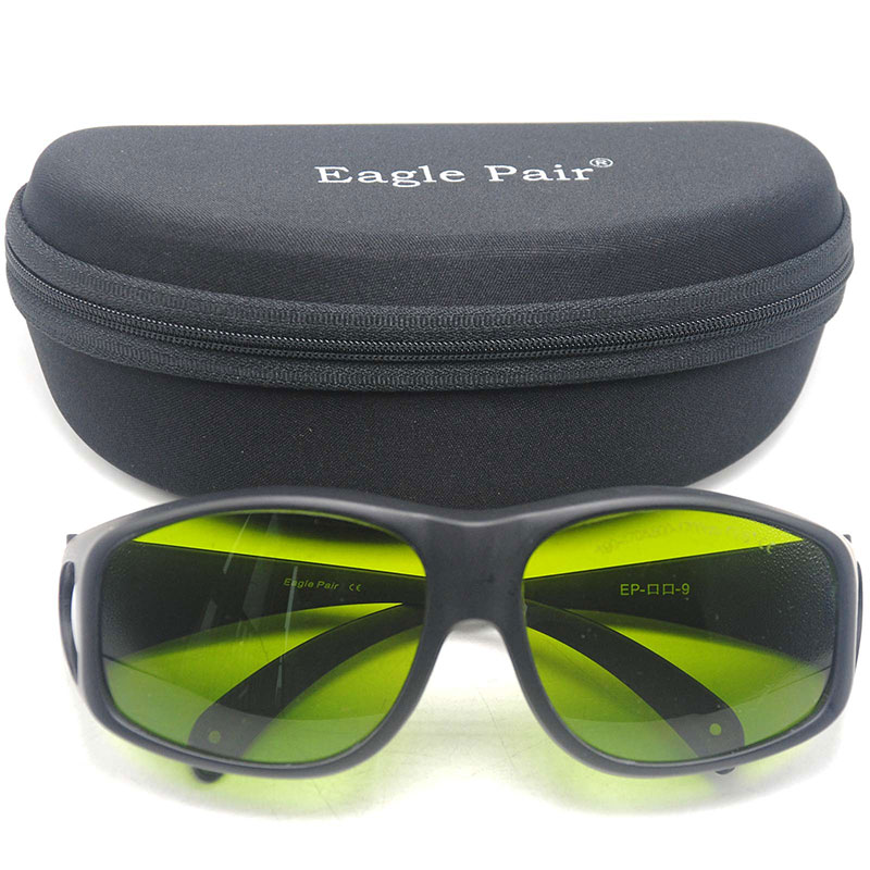 CE Safety Goggles for <font><b>Laser</b></font> 808nm 980nm 1064nm 1310nm 1550nm IR <font><b>Lasers</b></font> 190nm-<font><b>470nm</b></font> & 800nm-1700nm OD5+ image