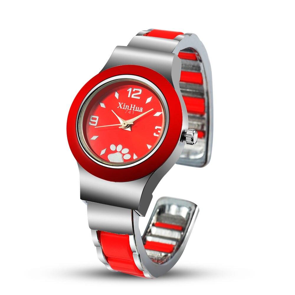 Womens Watches Fashion Bangle Bracelet Women Stainless Steel Quartz Wristwatch Casual Ladies relogio feminino