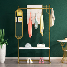 Shelf Rotating-Mirror Bedroom Integrated-Corner Porch-Hanging Living-Room