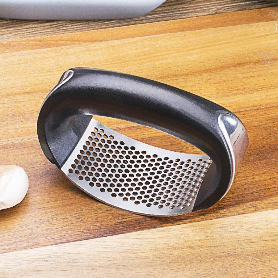 Stainless steel manual ring garlic Garlic type artifact kitchen tool
