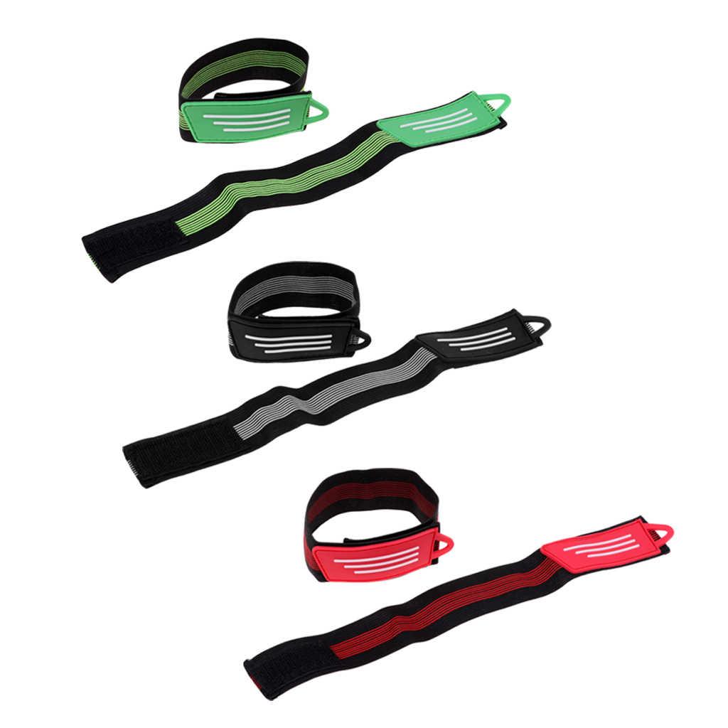 8 Pcs Cycling Bike Reflective Strap High Elastic Pants Band Safety Warning