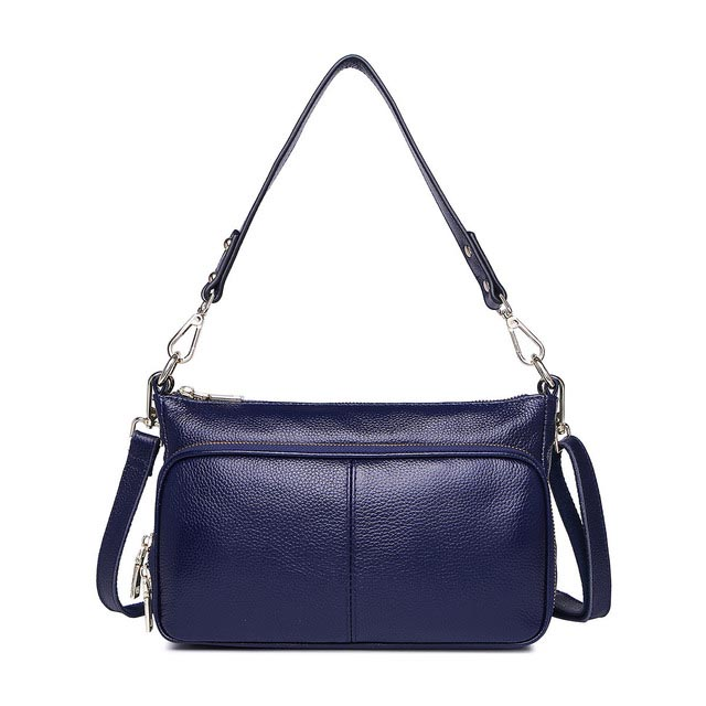 Classic Genuine Leather Handbag Women Top Grain Cow Should bags Female New fashion Womens Bag
