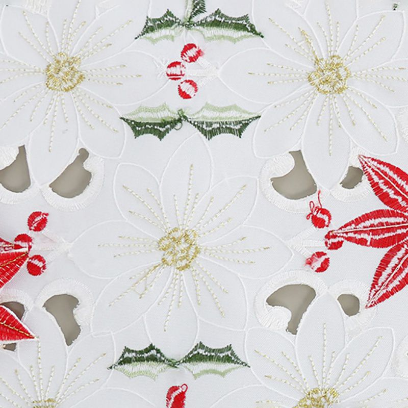 European Classic Table Runner Christmas Flower Table Flag Beautiful Tablecloth Home Decoration