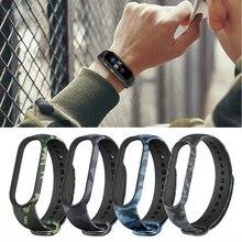 Correa de silicona suave para reloj inteligente Xiaomi, repuesto para pulsera inteligente Xiaomi Mi Band 5 y 6