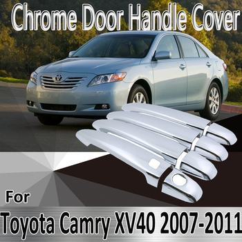for Toyota Camry Daihatsu Altis XV40 2007~2011 Styling Stickers Decoration Chrome Door Handle Cover Refit Car Accessories image