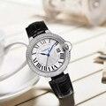 Top merk quartz horloge dames waterdichte lederen horloge horloge mode diamant romantische vrouw horloge Relogio Faminino Met Doos