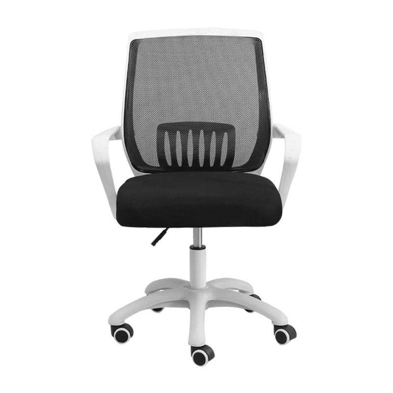 Computer Chair Home Office Chair Comfortable Sedentary Backrest Lift Swivel Chair Modern Simple Bow Armrest Staff Chair