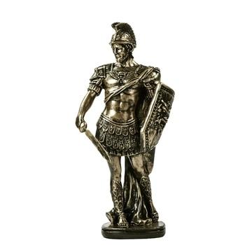 Ancient Rome Soldier Figurine Handmade Resin Swordsman Statue 1