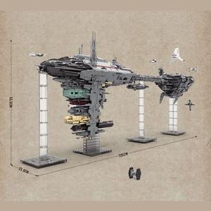 Image 4 - כוכב ילדים צעצועי מלחמת UCS Nebulon B רפואי פריגטה משחתת דגם ערכת אבני בניין לבנים תואם עם 81070 Starwar מתנות