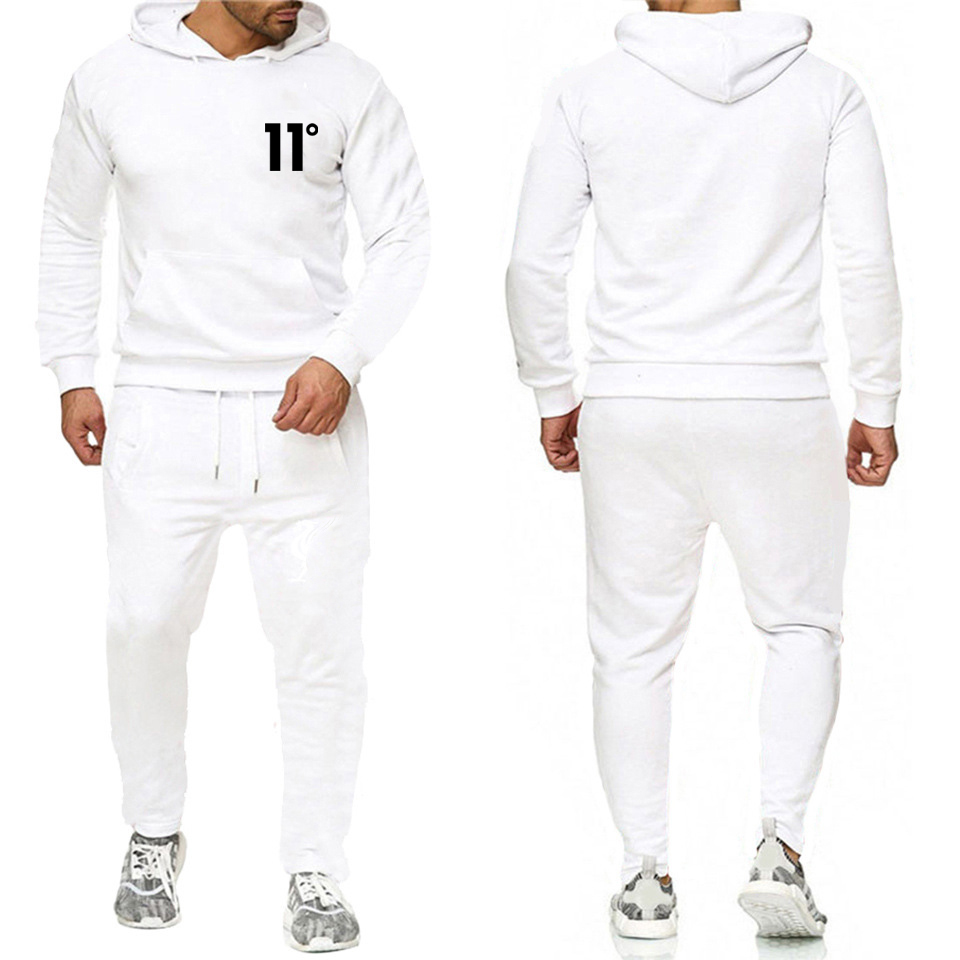 The Latest Fashion Of Autumn/winter 2019, Sports Fashion Hoodie Suit For Men And Women Fitness Leisure, Loose And Loose Europe