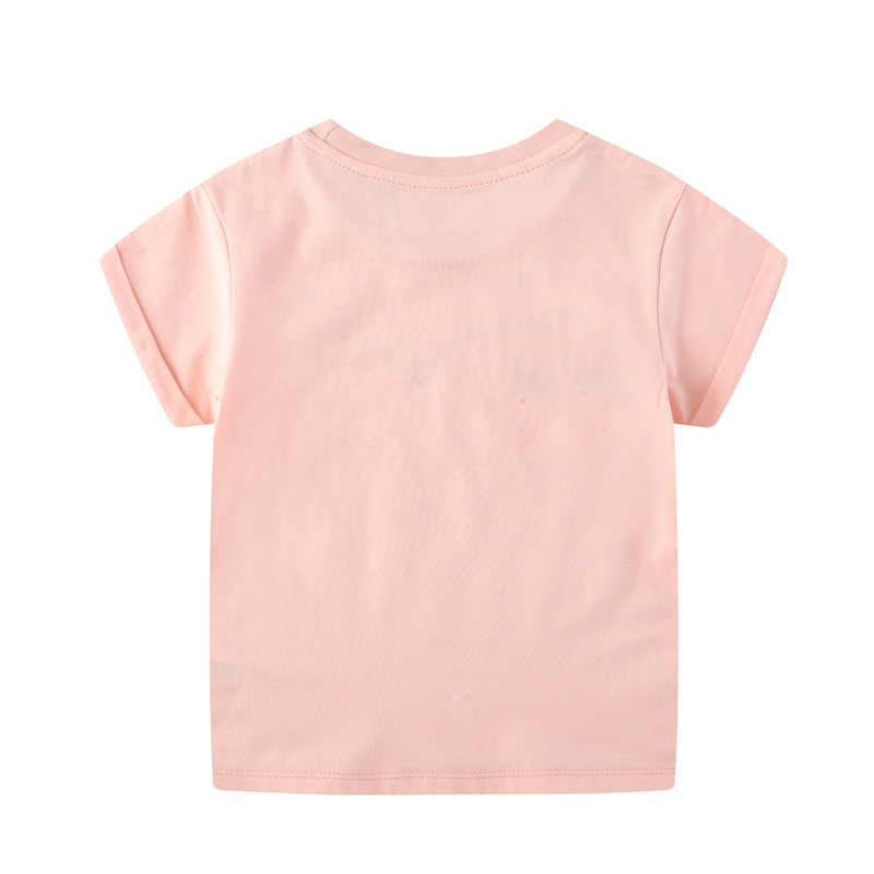 H83e679e9e498426886beebdae6c62a3cw Baby Girl Summer Clothes s Flower Swan Tees Shirts Outfits Cute Infant T Shirts Lovely Children Clothing Kids Summer Clothes