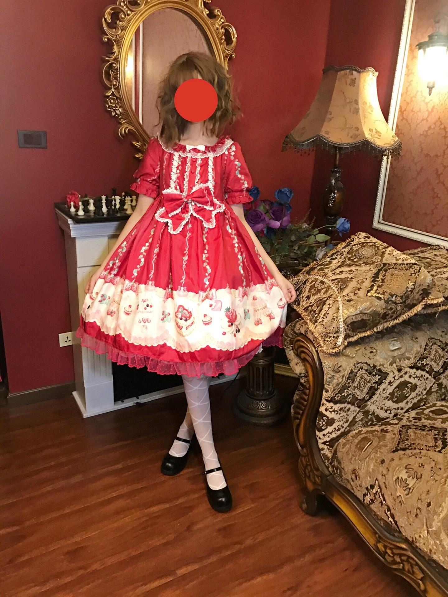 2019 harajuku street cross cosplay femme robe lolita japonaise robe gothique lolita fée kei lolita kawaii lolita vêtements
